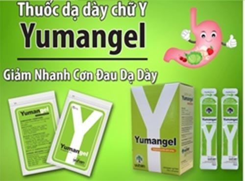 Yumangel giúp cải thiện nhanh chóng bệnh đau dạ dày