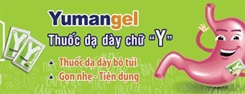 Thuốc dạ dày chữ Y – Yumangel