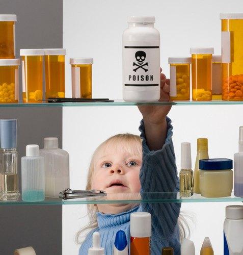 Trẻ em uống nhầm thuốc