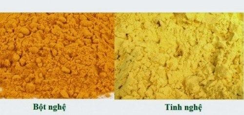 tinh bột nghệ vàng tốt cho dạ dày