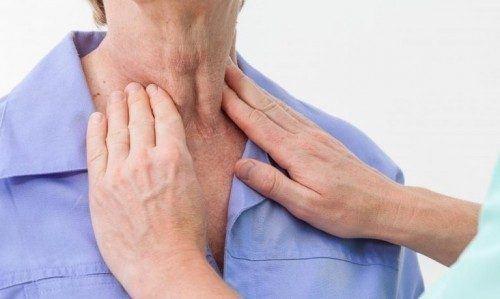 khó nuốt ở cổ họng do nhược cơ