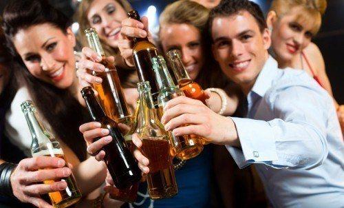 rượu bia gây ung thư
