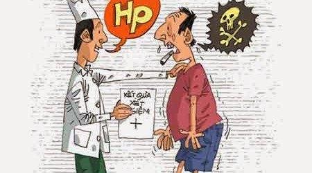 thời gian chữa đau dạ dày có Hp
