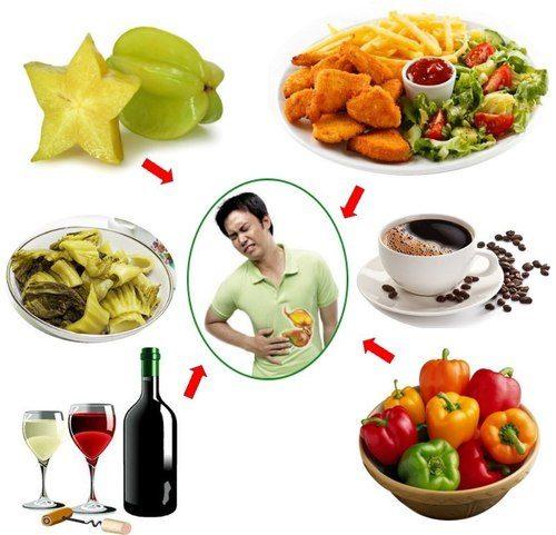 sai lầm dẫn đến đau dạ dày