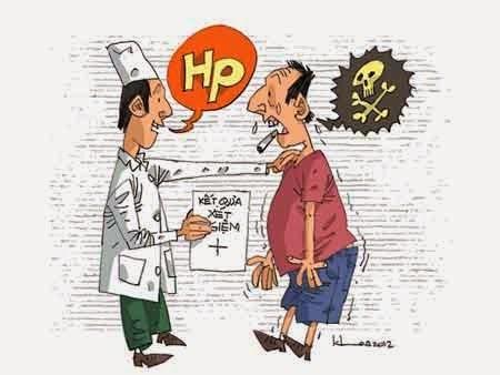 bệnh loét dạ dày tá tràng có Hp