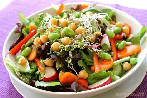 ăn chay giảm nguy cơ ung thư dạ dày