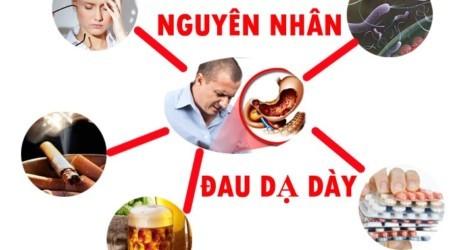 Bệnh đau dạ dày xuất phát từ nhiều nguyên nhân