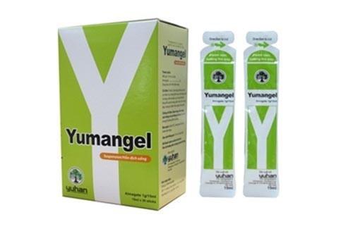 Yumangel giúp giảm nhanh các triệu chứng của bệnh trào ngược dịch mật