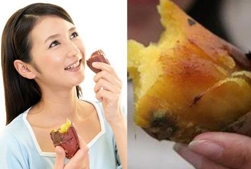 đau dạ dày ăn khoai lang