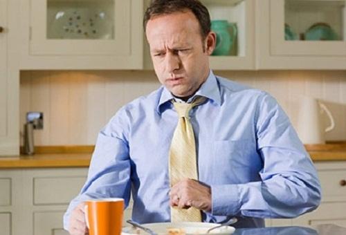 Ợ hơi sau khi ăn
