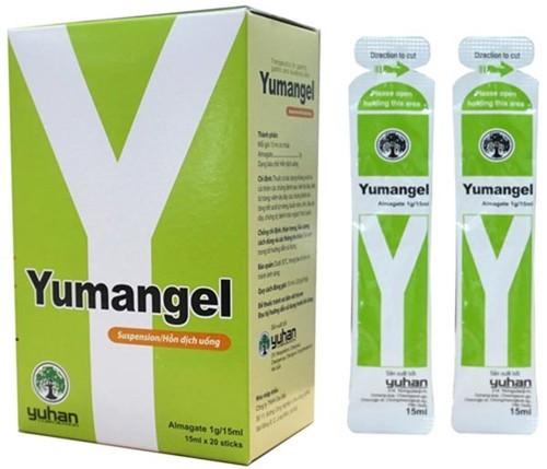 Yumangel – Thuốc dạ dày chữ Y có chứa hoạt chất Almagate
