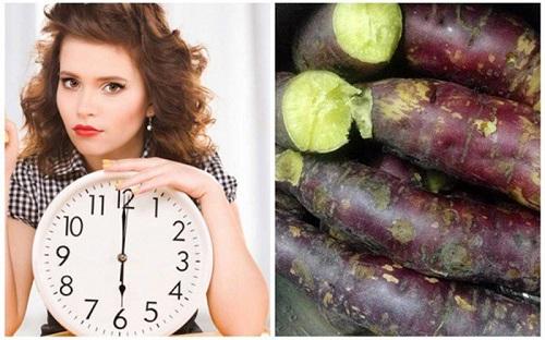 Bệnh trào ngược dạ dày ăn khoai lang được không