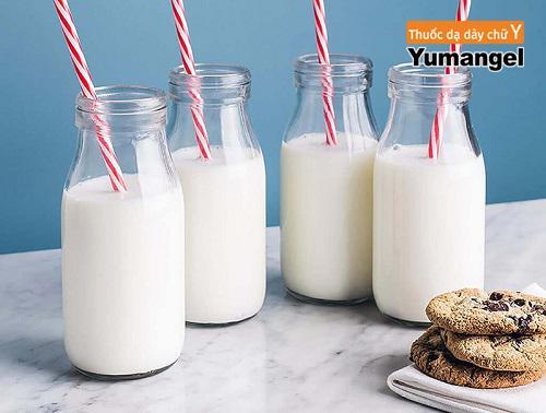 Bệnh viêm dạ dày uống sữa được không