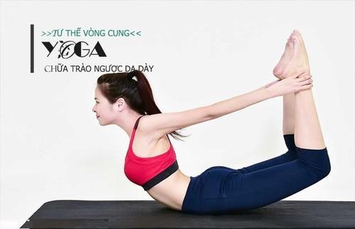 Yoga chữa trào ngược dạ dày Nguyễn Hiếu