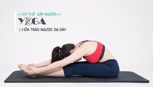yoga trị trào ngược dạ dày thực quản